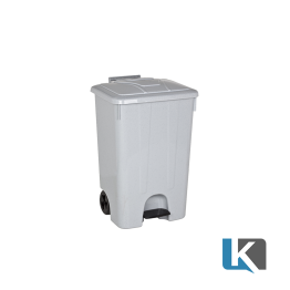 K-85 Lt. Pedallı Tekerlekli Çöp Kovası